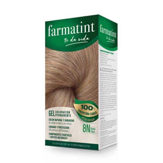 Vos cheveux plus lumineux et naturels que jamais avec Farmatint Gel 8N Blond Clair.