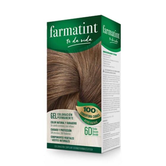 Vos cheveux plus lumineux et naturels que jamais avec Farmatint Gel 6D Blond Foncé Doré.