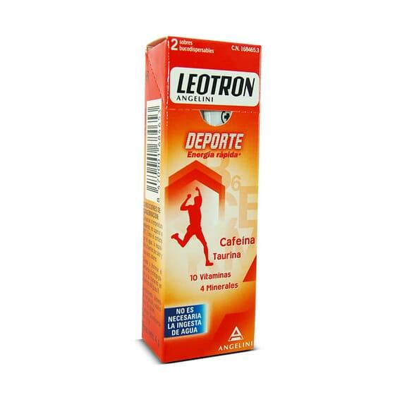 Essayez Leotron Sport, vous obtiendrez toute l'énergie dont vous avez besoin avec seulement 2 sa
