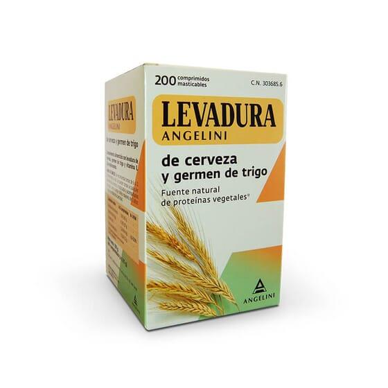 Angelini Natura Levure de Bière et Germe de Blé est une source naturelle de vitamines.