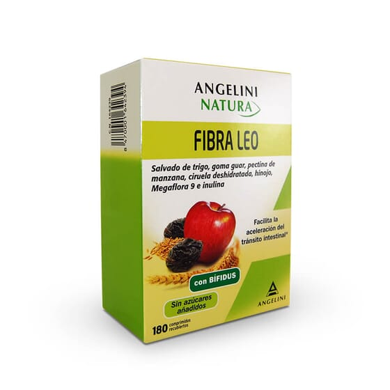 Angelini Natura Fibre Leo contient des probiotiques, des prébiotiques et des fibres !