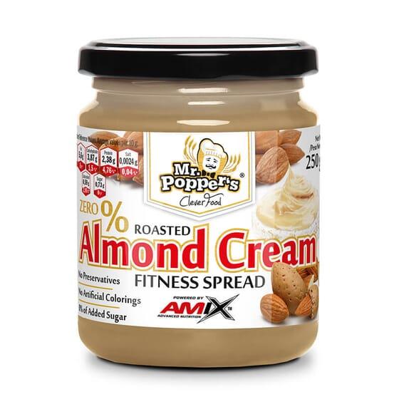 Crème d'Amandes ne contient pas de sucre ajouté ni de conservateurs.