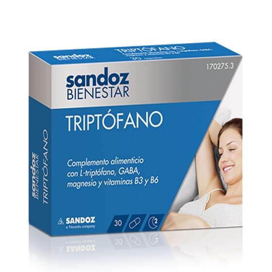 SANDOZ BIENESTAR TRIPTOFANO 30 Caps
