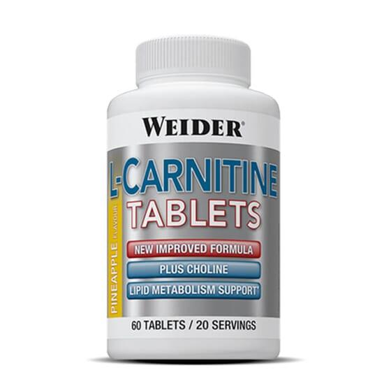 L-Carnitine de Weider favorise la perte de poids.