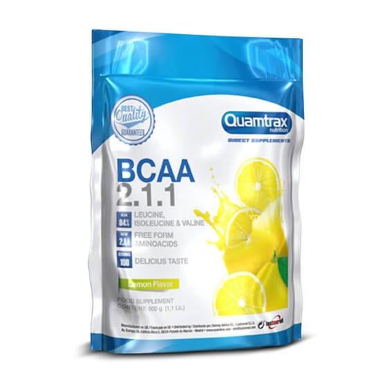 Potencia tus entrenamientos al máximo nivel con los BCAA 2.1.1 de Quamtrax.
