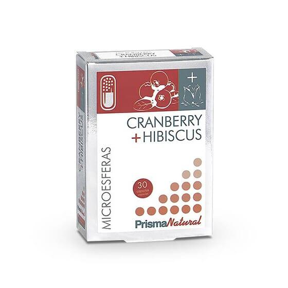 Cranberry + Hibiscus de Prisma Natural protège vos voies urinaires.