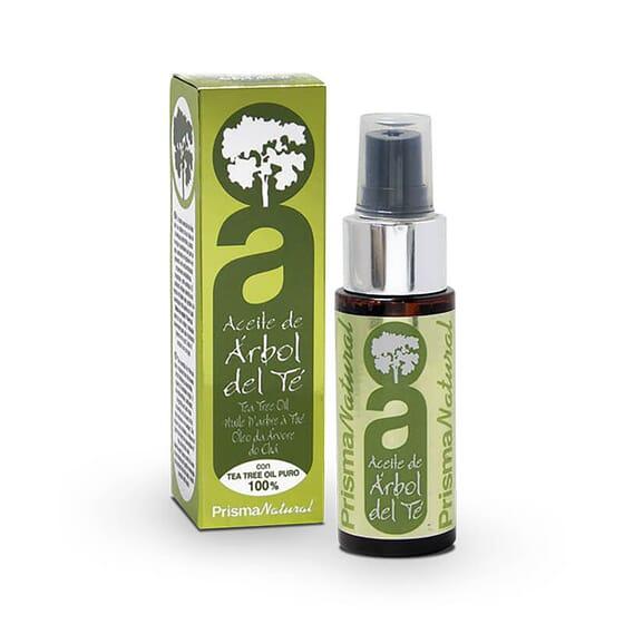Huile d'arbre à thé améliore l'apparence de votre peau.