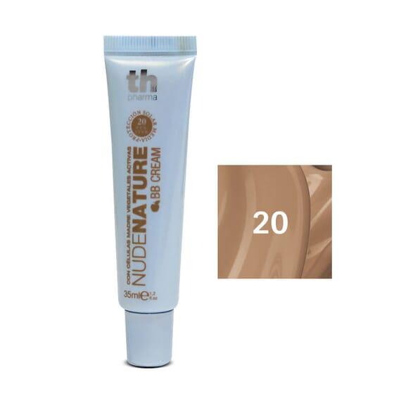 Grâce à Nudenature BB Cream N°20, vous pourrez hydrater, protéger et unifier le teint de votre p