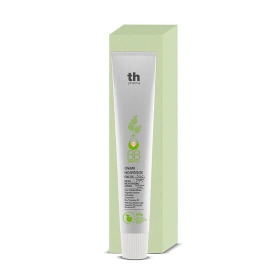 BB Sensitive Crème Hydratante Visage (Sans Parfum) prend soin de la peau de bébé.