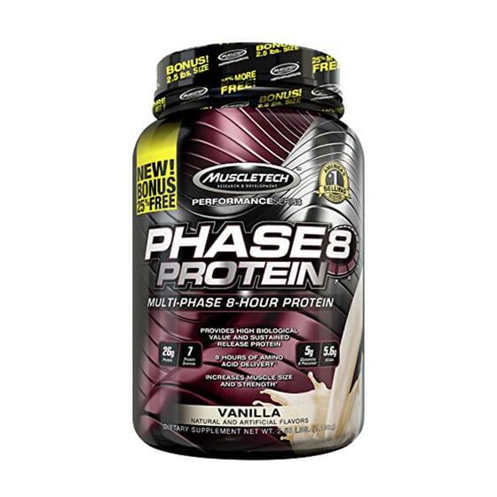 Phase 8 Performance Series est une protéine multi-phase.