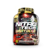 NITROTECH 100% WHEY GOLD - Muscletech - Proteína de suero