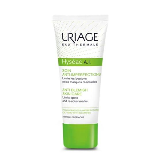 Hyséac A.I. Soin Anti-Imperfections désincruste, désobstrue et resserre les pores.