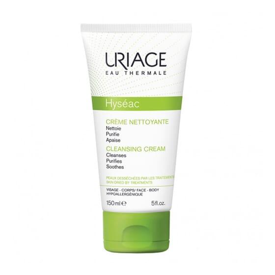 Hyséac Crème Nettoyante nettoie doucement la peau sensible à tendance acnéique.