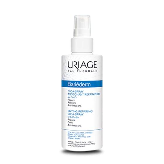 Bariéderm Cica-Spray Asséchant Réparateur assèche et répare.
