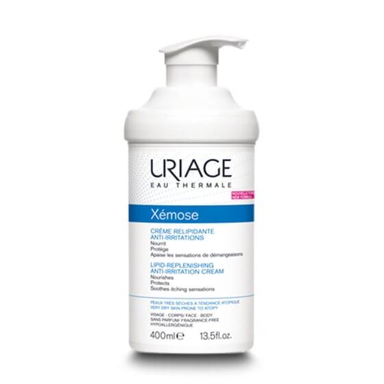Xémose Crème Relipidante Anti-Irritations apaise la sensation de démangeaisons chez les peaux sè