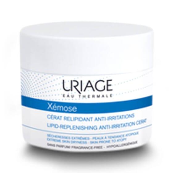 Xémose Cérat Relipidant Anti-Irritations nourrit et apaise la peau sèche ou atopique.