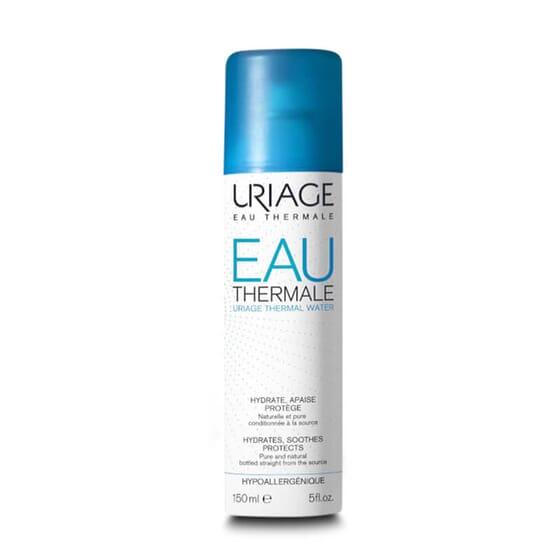 Eau Thermale en Spray apaise et hydrate la peau.