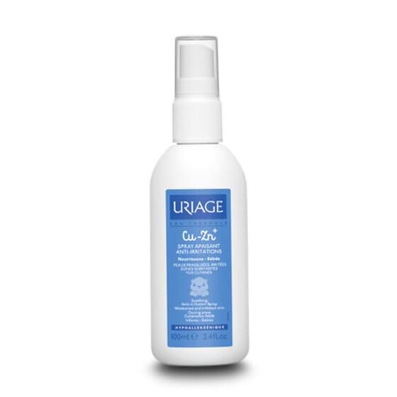 Cu-Zn+ Spray Apaisant Anti-Irritations est indiqué pour les peaux irritées.