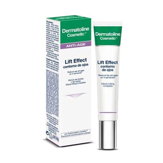 Dermatoline Cosmetic Lift Effect Contour des Yeux réduit visiblement les rides et diminue les po