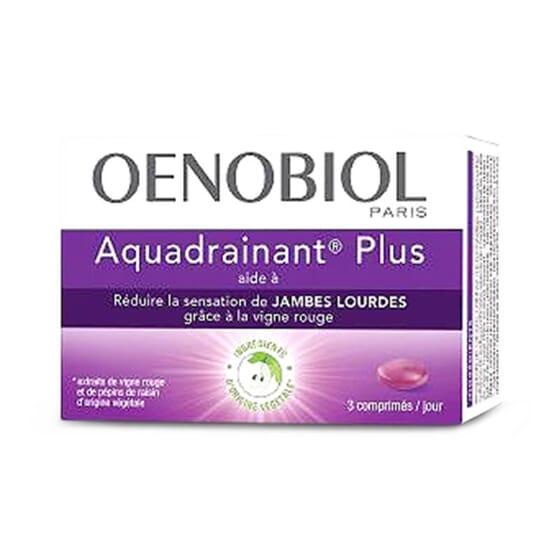 Oenobiol Aquadrainant Plus favorise la circulation veineuse.
