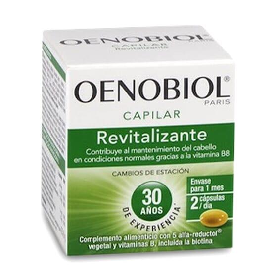 Oenobiol Capilar Revitalizante nutre el cabello desde el interior.