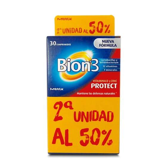 Bion3 Protect fortalece o sistema imunológico.
