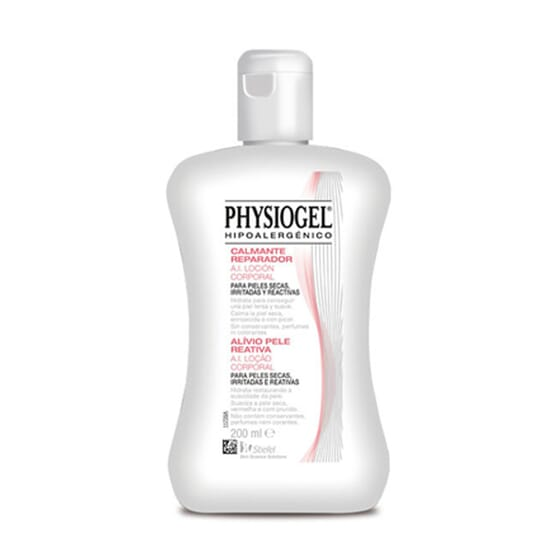 Physiogel A.I. Lotion Apaisante pour les peaux très sèches, irritées et réactives.