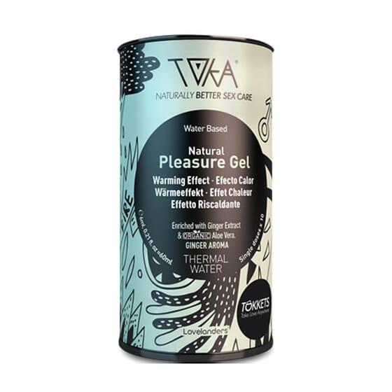 Natural Pleasure Gel Effet Chaleur favorise la lubrification naturelle.