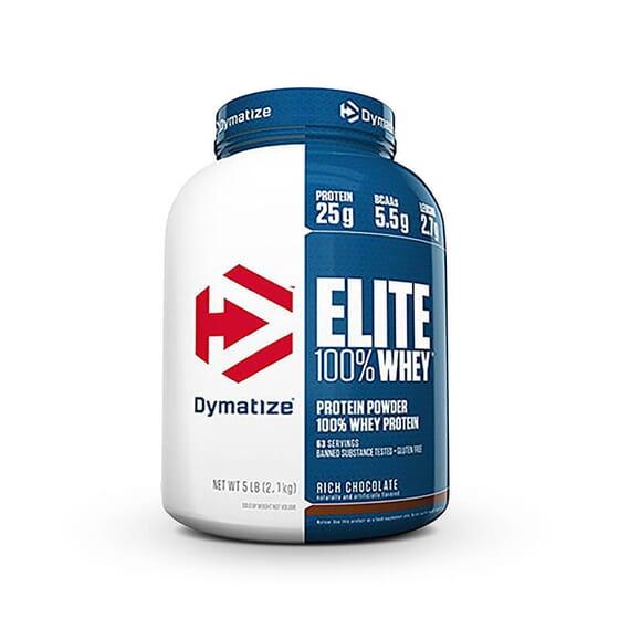 Elite 100% Whey est un mélange de peptides et d'isolat de lactosérum.