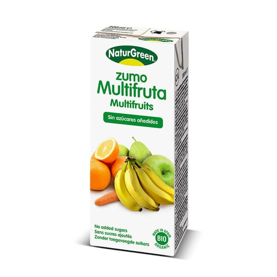 Jus Multifruit Bio est une boisson biologique.