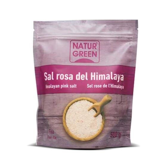Sel Rose de l'Himalaya de NaturGreen est un sel de qualité.