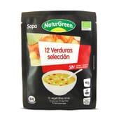 Sopa 12 Verduras Seleção Bio não contém lactose.
