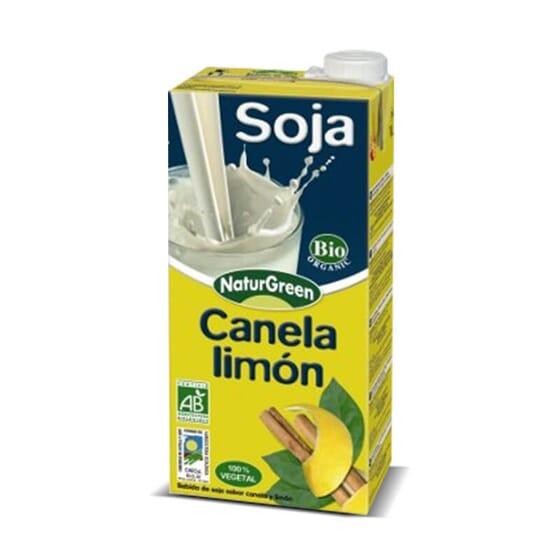 La Bebida de Soja Canela Limón Bio es 100% vegetal y sin lactosa.
