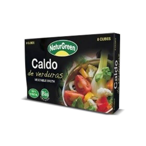 Cubito Caldo Verduras Bio de NaturGreen pone sabor a tus comidas.