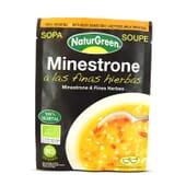 Sopa Minestrone às Finas Ervas Bio da NaturGreen cuida da tua linha!