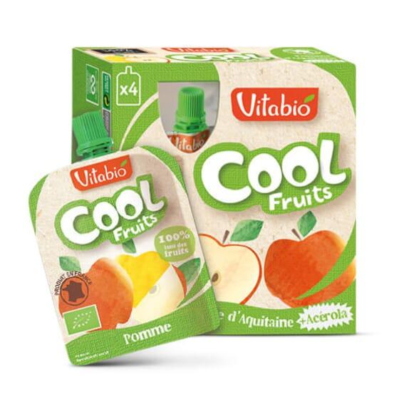 Vitabio Cool Fruits Pomme + Acerola, une façon ludique et pratique de manger des fruits.