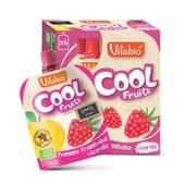 Vitabio Cool Fruits Maçã, Morangos e Mirtilos + Acerola, o teu puré de fruta para levar.