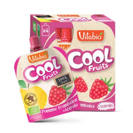 Vitabio Cool Fruits Pomme, Fraise et Myrtille + Acérola les fruits à emporter.