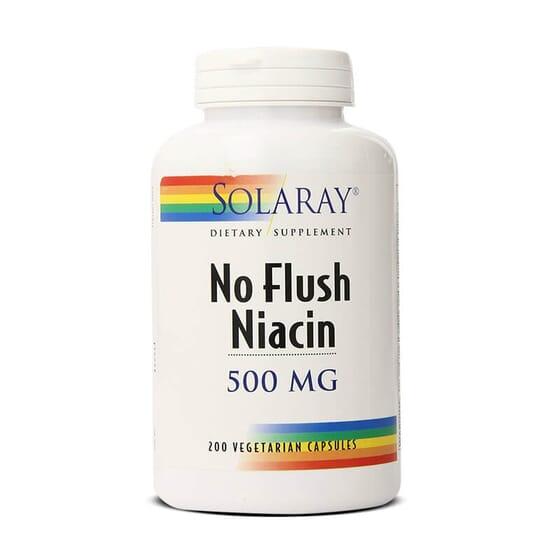 Protégez votre cœur avec Niacine 500 mg de Solaray.