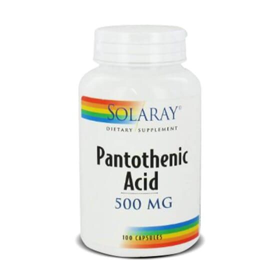 L'acide pantothénique contribue à un métabolisme énergétique normal.