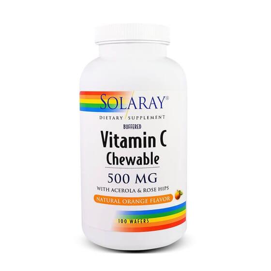 Renforcer votre système immunitaire grâce à Vitamine C à croquer 500 mg.
