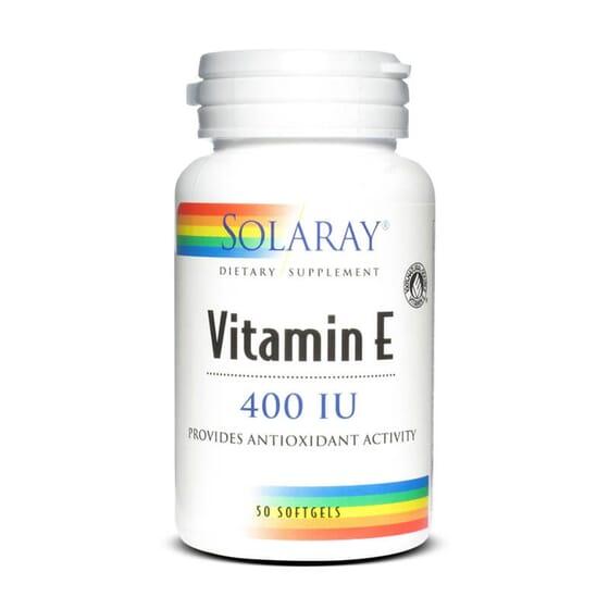 Grâce Vitamine E 400IU de Solaray, vous apporterez tous les antioxydants nécessaires à votre ali