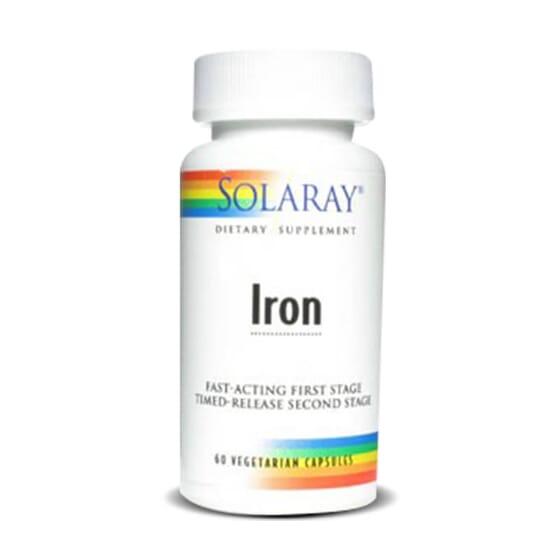 Le Fer de Solaray est très biodisponible, ce qui optimise son absorption.