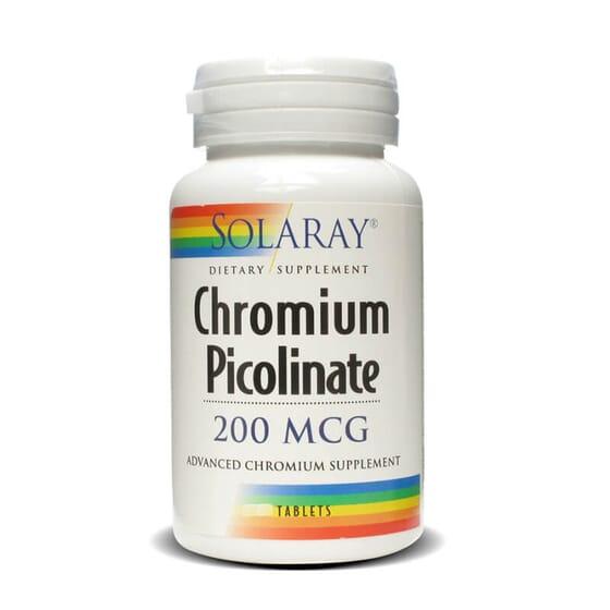 Si vous voulez améliorer votre composition corporelle, essayez le Picolinate de Chrome 200mcg de