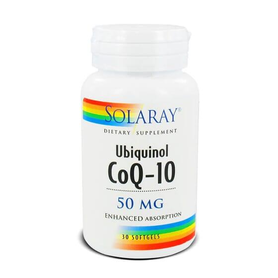 Ubiquinol CoQ-10 50mg contribui para combater os radicais livres.