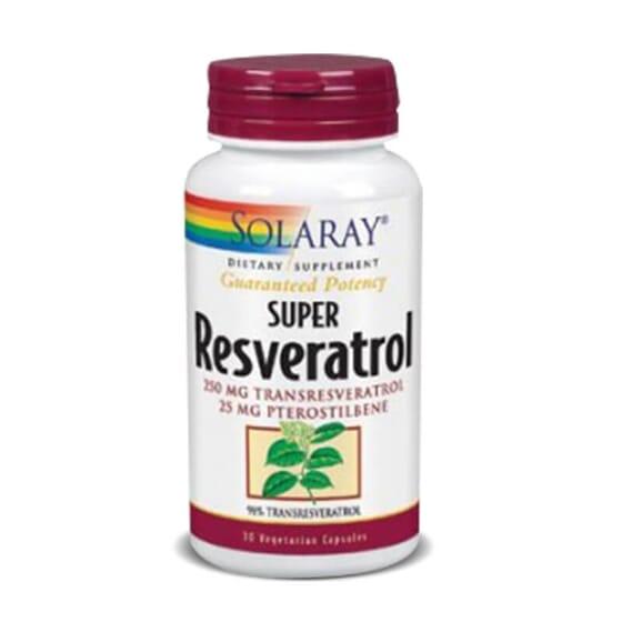 Super Resvératrol 250mg est un complément alimentaire antioxydant.