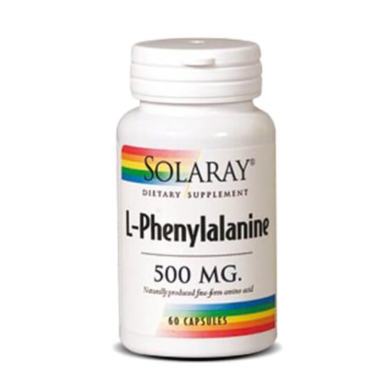 L-Fenilalanina 500mg da Solaray contém o aminoácido l-fenilalanina em forma livre.