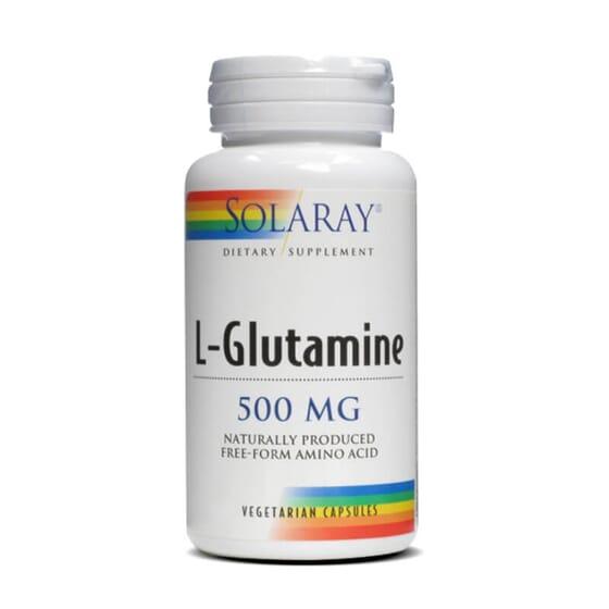 L-Glutamine 500mg vous aide après des entraînements intensifs.