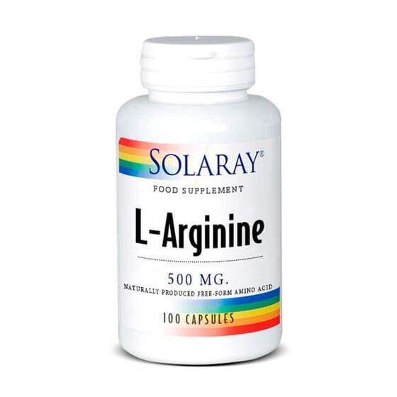 L-Arginine 500mg améliore le flux sanguin.
