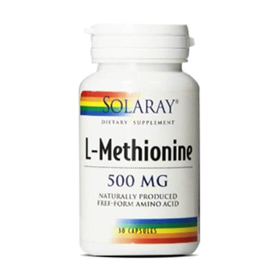 L-Méthionine 500mg de Solaray est un puissant acide aminé soufré.